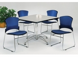 Lunchroom Table and Chairs Set 42 inch Square - OFM - LSET-3