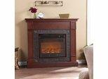 Lungarno Cherry Electric Fireplace - Holly and Martin