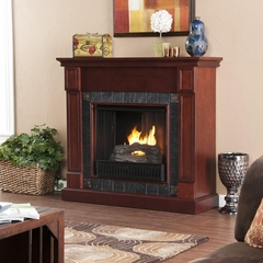 Lungarno Cherry Gel Fireplace - Holly and Martin