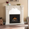 Luxembourg Ivory Gel Fireplace - Holly and Martin