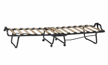 Luxor Folding Bed with Memory Foam - Linon Furniture - 352STD-01-AS-UPS