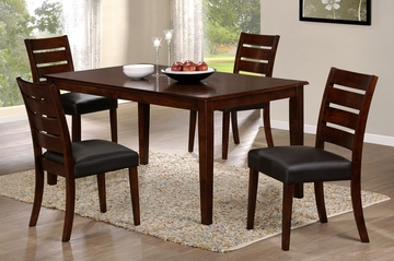 Lyndon Lane 5-Piece Dining Set with Ladder Back Chairs - Hillsdale Furniture - 4789DTBCL