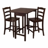 Lynnwood 3Pc Drop Leaf High Table Set - Winsome Trading - 94334