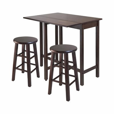 Lynnwood Drop Leaf Island Table - Winsome Trading - 94394