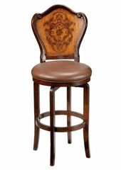 Lyon (Etched) Swivel Bar Stool - Hillsdale Furniture - 4870-830S
