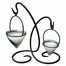 Lyric Lantern - Pewter - Pangaea Home and Garden Furniture - FM-C4079