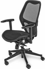 Mac Motion Net Mesh Office Chair - Mac Motion Chairs - CTM-5600-B-SS
