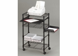 Machine Cart in Black - Mayline Office Furniture - 955BLK