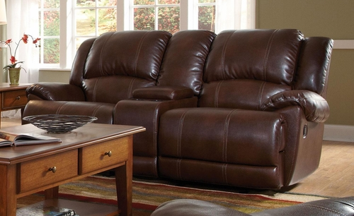 Mackenzie Motion Loveseat in Chestnut - 601182