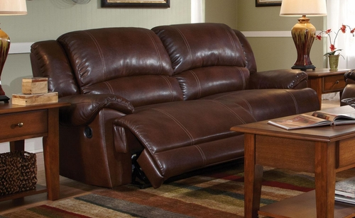 Mackenzie Motion Sofa in Chestnut - 601181