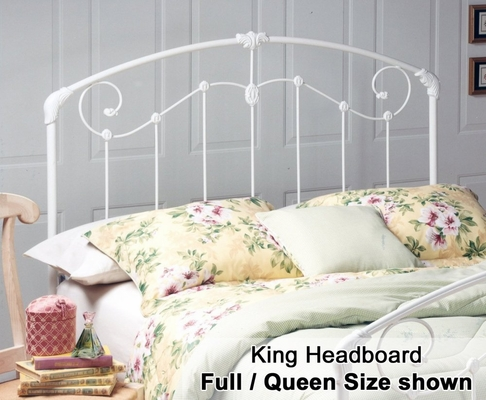 Maddie Eastern King Size Metal Headboard - 325-67