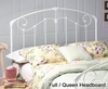 Maddie Full / Queen Size Metal Headboard - 325-49
