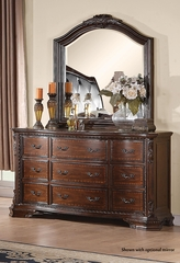 Maddison Drawer Dresser in Brown Cherry - 202263