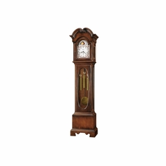 Madilyn Grandfather Clock - Distressed Hampton Cherry - Howard Miller
