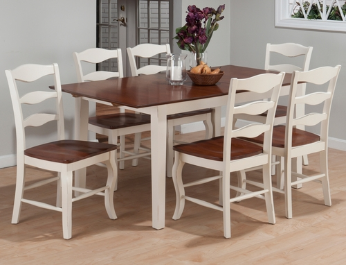 Madison County 7PC Rectangular Dining Set with Lexington Chairs - 141-66