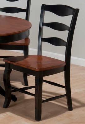 Madison County Brown / Charcoal Lexington Chair - Set of 2 - 841-278KD