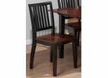 Madison County Brown / Charcoal Salem Chair - Set of 2 - 841-461KD