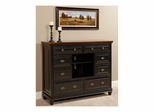 Madison HD Chest Black and Cherry - Largo - LARGO-ST-B1251A-28