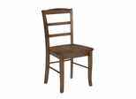 Madrid Ladderback Chair (Set of 2) in Oak - C04-2P