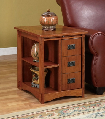 Magazine Cabinet Table -