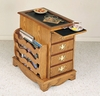 "Magazine Cabinet Table - ""Nostalgic Oak"" - Powell Furniture - 469"