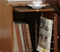 "Magazine Cabinet Table - ""Nostalgic Oak"" - Powell Furniture - 843"