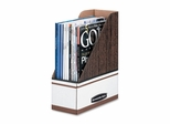 Magazine File Holder - Woodgrain 6 Pack- FEL72231