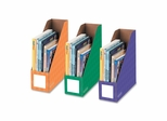 Magazine File Holders - Assorted 3 Pack- FEL3381801