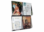 Magazine Wall Rack - Clear - DEF56001
