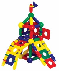 Magneatos Jumbo Master Builder - 148 Pieces - Guidecraft - G8108