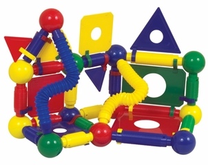 Magneatos Jumbo Master Builder - 89 Pieces - Guidecraft - G8107