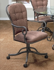 Magnolia Caster Chair in Smoke Copper - Pastel - MA-160-SC
