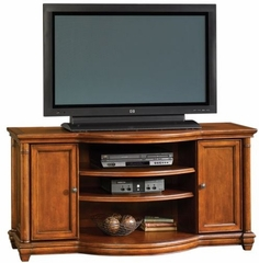 Magnolia Park Entertainment Credenza Vintage Mahogany - Sauder Furniture - 402931