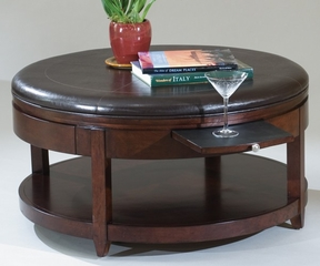 Magnussen Brunswick Round Cocktail Table - Magnussen Furniture - T1096-45