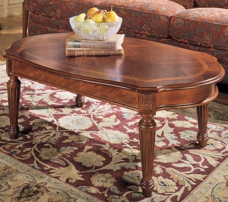 Magnussen Sedona Oval Cocktail Table - Magnussen Furniture - 13826