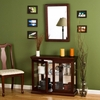 Mahogany Double Door Curio - Holly & Martin