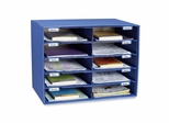 Mail Box - 10 Slots - Blue - PAC001309