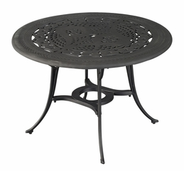 Malibu Outdoor Dining Table in Black - Home Styles - 5556-30