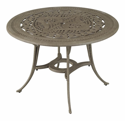 Malibu Outdoor Dining Table in Taupe - Home Styles - 5557-30