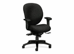 Manager Mid-Back Chair W/ Seat Guide - Iron - HON7628BW19T