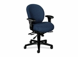 Manager Mid-Back Chair W/ Seat Guide - Navy - HON7628BW90T