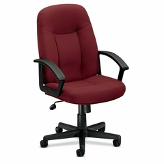 Managerial Mid Back Chair - Burgundy - BSXVL601VA62T