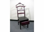 Manchester Mahogany Valet Chair with Drawer - Proman Suit Valet - VL16142