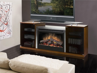 Marana Media Electric Fireplace in Cherry - Dimplex - SAP-500-C