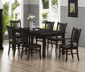 Marbrisa 7 Piece Mission Style Dining Set  - 103551