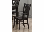 Marbrisa Slat Back Arm Chair - Set of 2 - 103553