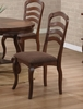 Marcus Dining Chair (Set of 2) in Medium Brown Oak - Coaster - 102142-SET