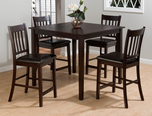 Marin County Merlot 5-Piece Pub Table Set - 892