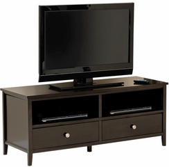 Market Park Entertainment Credenza Black Apricot - Sauder Furniture - 408840