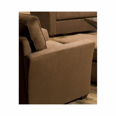 Marley Club Chair Chocolate - Largo - LARGO-ST-F2200-403